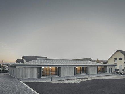 Neubau Dreifachkindergarten Würenlingen Aussenansicht