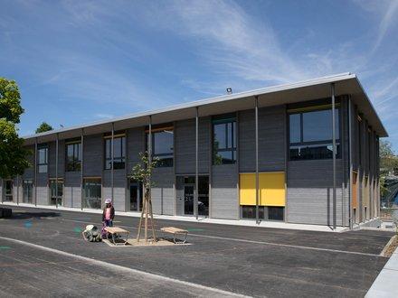 Hochbau Fislisbach, Erweiterung Schulanlage