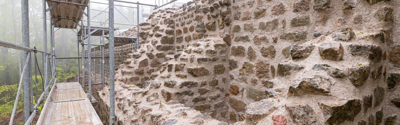 Werterhaltung Füllinsdorf Sanierung Ruine Altenberg