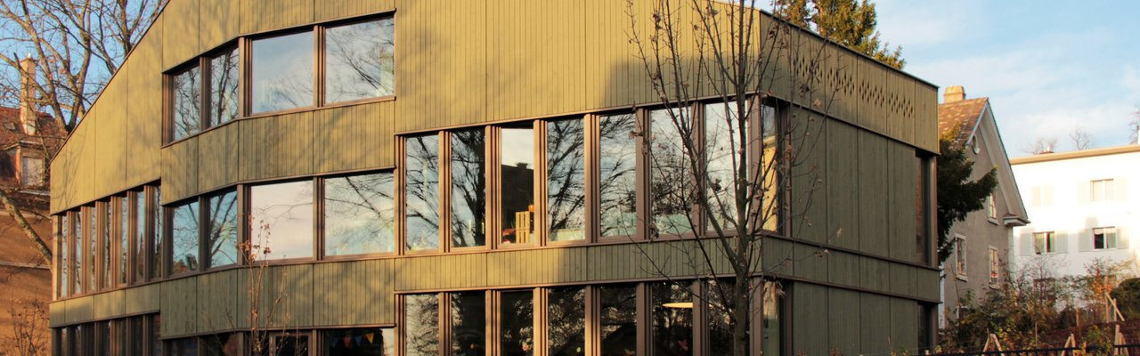 Hochbau Zürich, Neubau Kinderhort