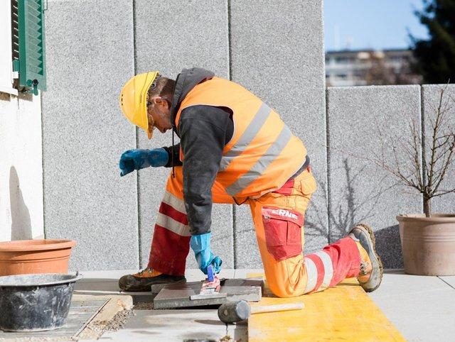 Bauservice Erneuerung Gartensitzplatz