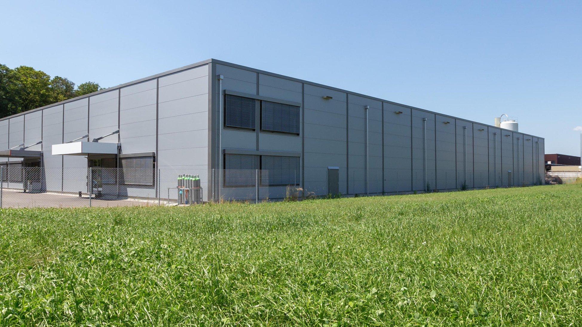 Totalunternehmer Projekt Neubau Swiss Shrimp Rheinfelden