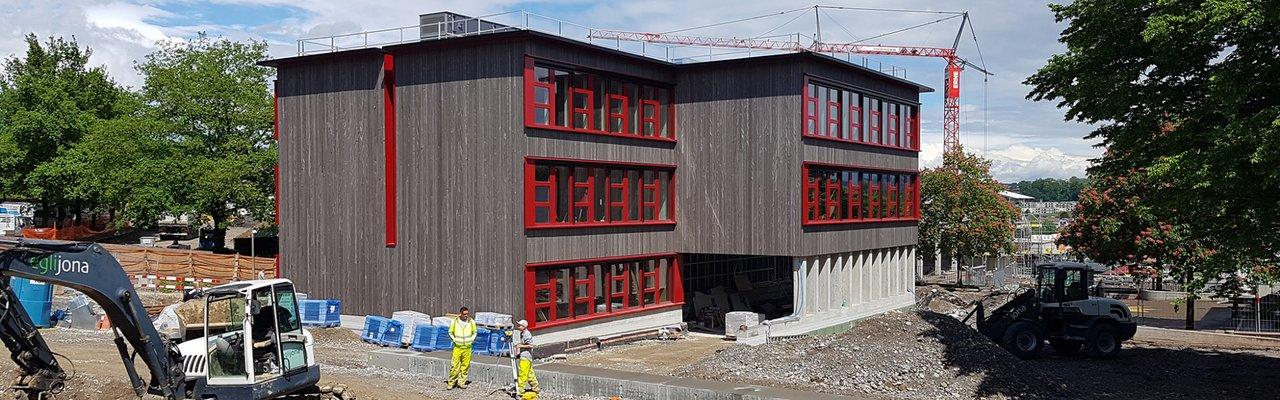 Adliswil Hochbau Umbau Erweiterung Schulhaus Sonnenberg