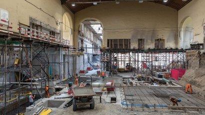 Der Umbau des SBB Westflügels im Zeitraffer