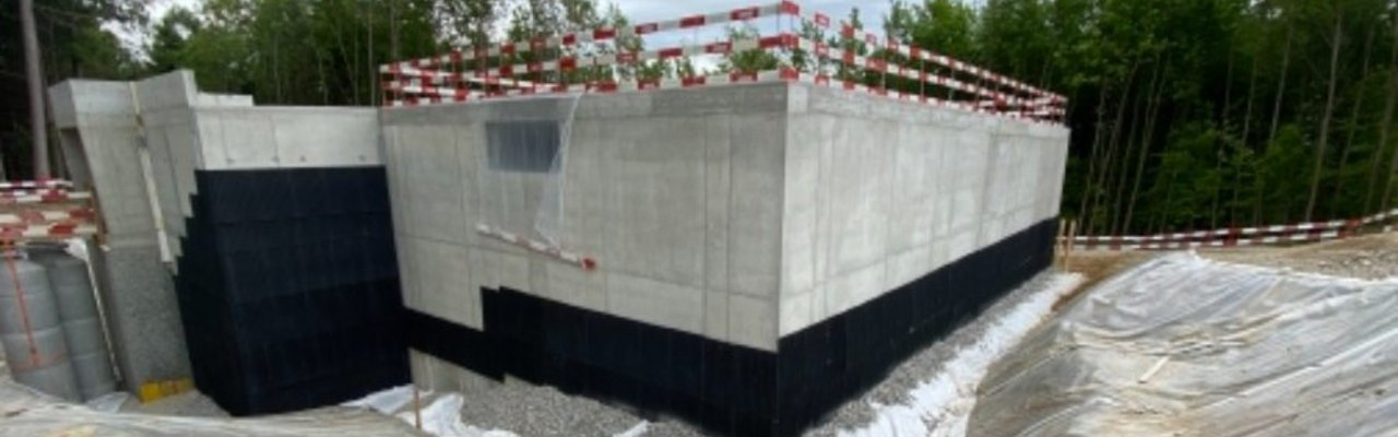 Hochbau Niederbuchsiten Neubau Reservoir Buechbahn
