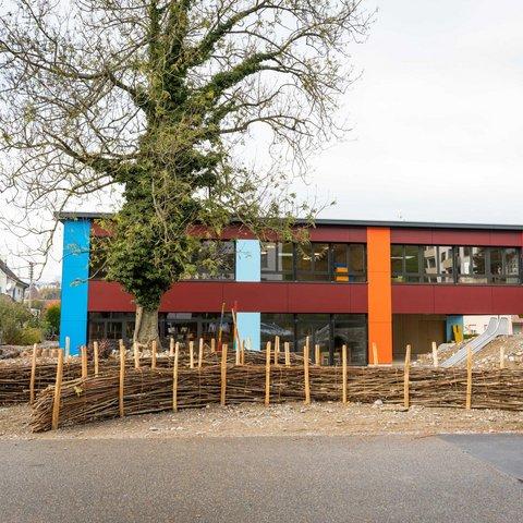 Hochbau Neubau Laufenburg Kindergarten Vogtsmatte