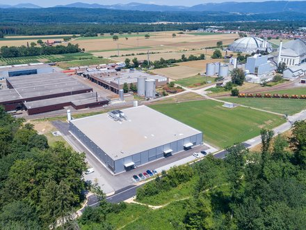 Rheinfelden Neubau Swiss Shrimp Produktionshalle