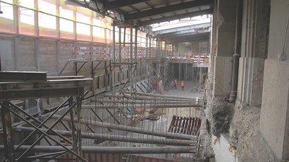 Spezialtiefbaumassnahmen stützen SBB Gleise in Basel