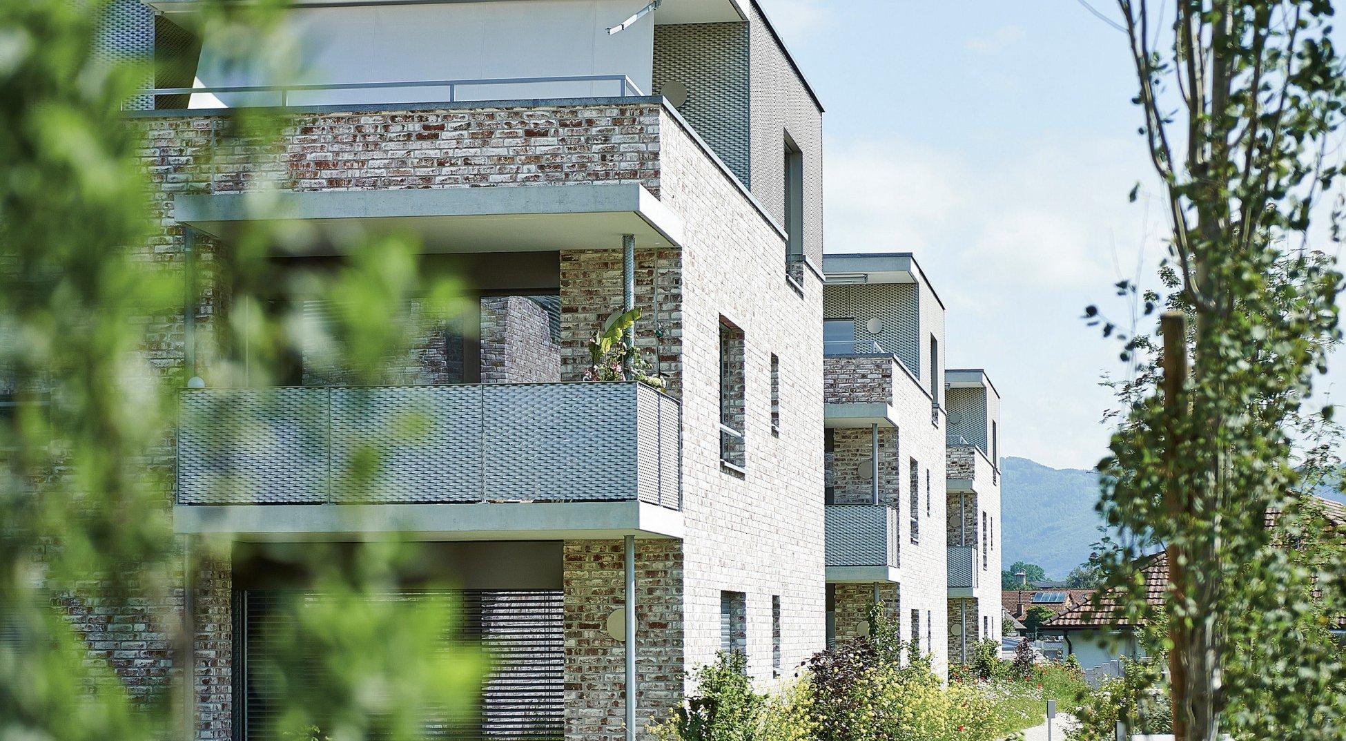 Neubau Mehrfamilienhäuser Möhlin Aeschemerbuenten ERNE plus
