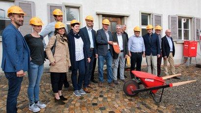 Start der Umbau und Neubau-Arbeiten des Haus am Schlossberg