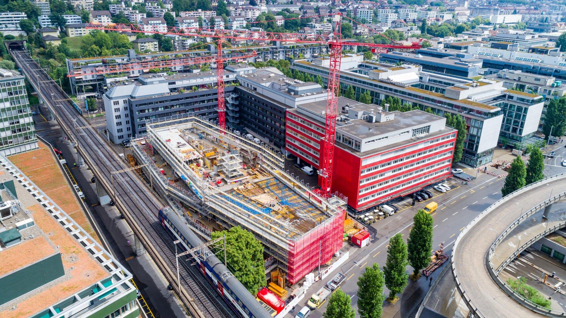 Totalunternehmer Projekt Neubau Stadtpolizei Zürich Übersicht