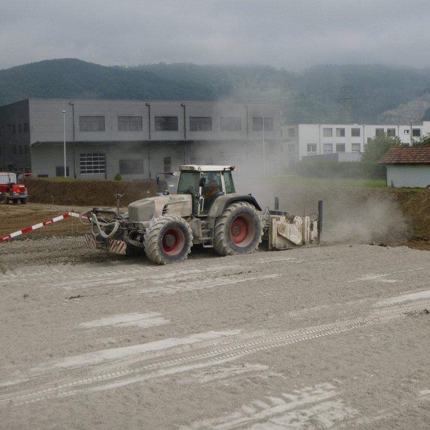 Tiefbau Untergrundvorbereitung Dallmayr