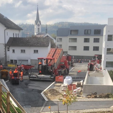 Stetten Tiefbau Erschliessung Oberdorf