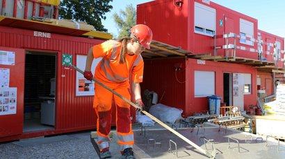 Praktikum auf der Hochbau-Baustelle: die Unterschiede zur Büroarbeit sind gross