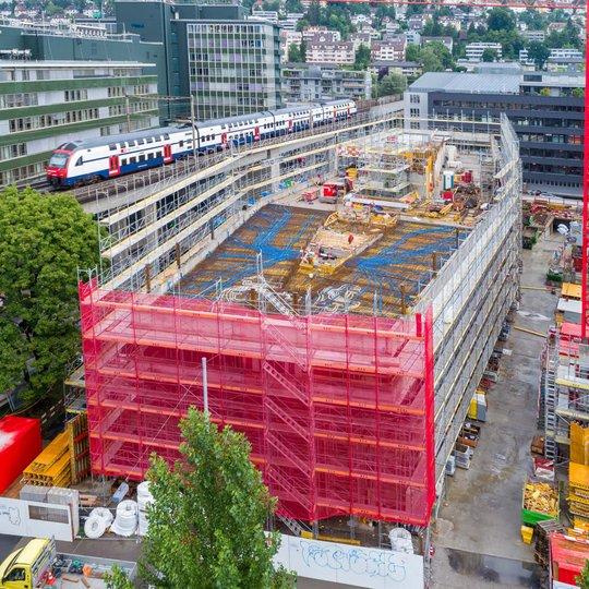 Totalunternehmer-Projekt Neubau Stadtpolizei Zürich