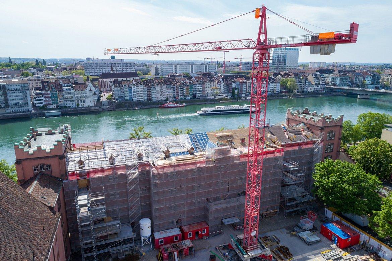 Umbau Hauptbau Kaserne Basel