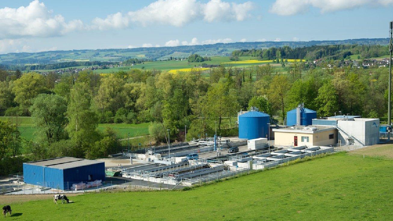 Neubau Abwasserreinigungsanlage Unterlunkhofen GU