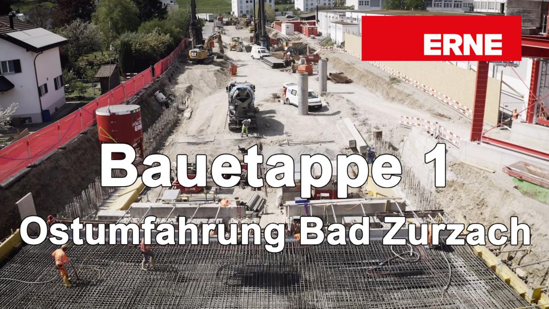 Ostumfahrung Bad Zurzach Bauetappe 1