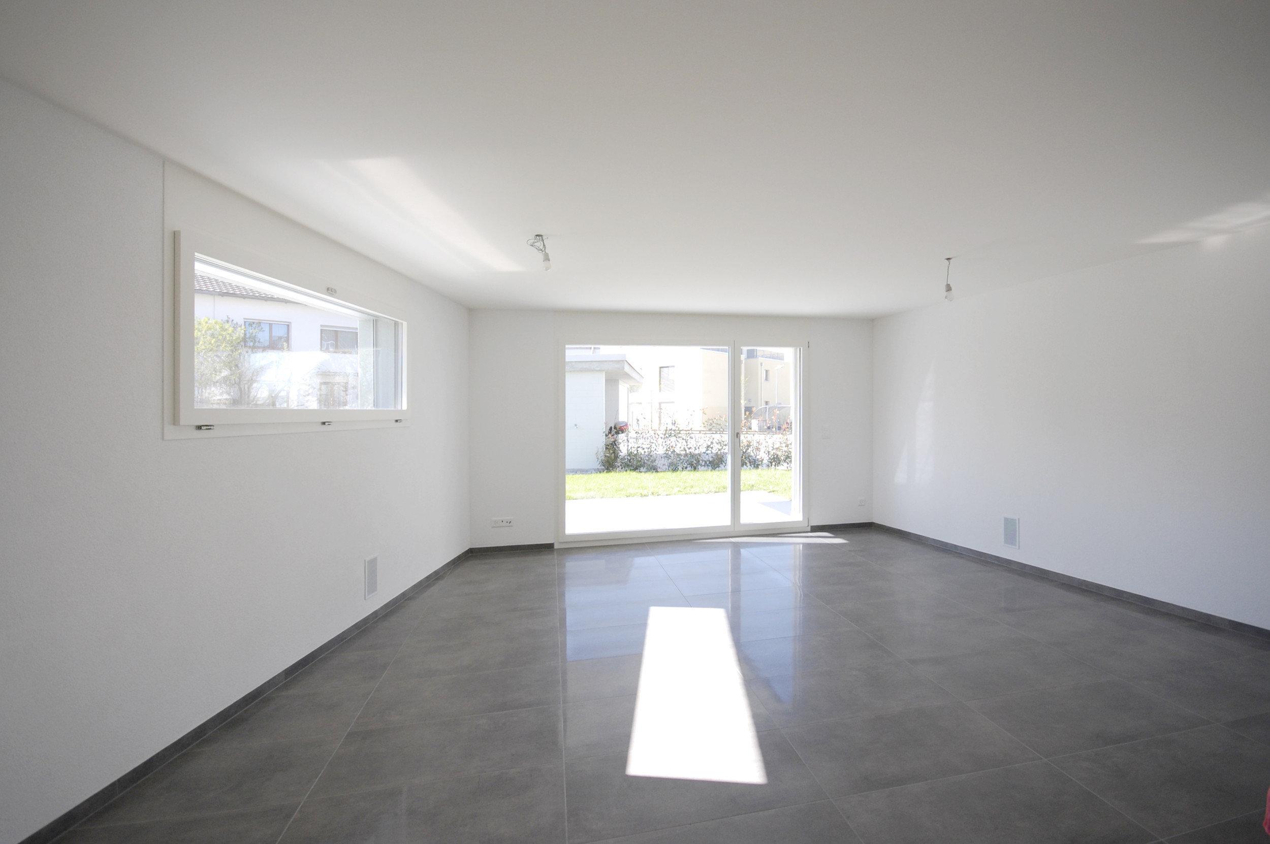 Lichtdurchflutete Raum trotz wenig Fensterfläche