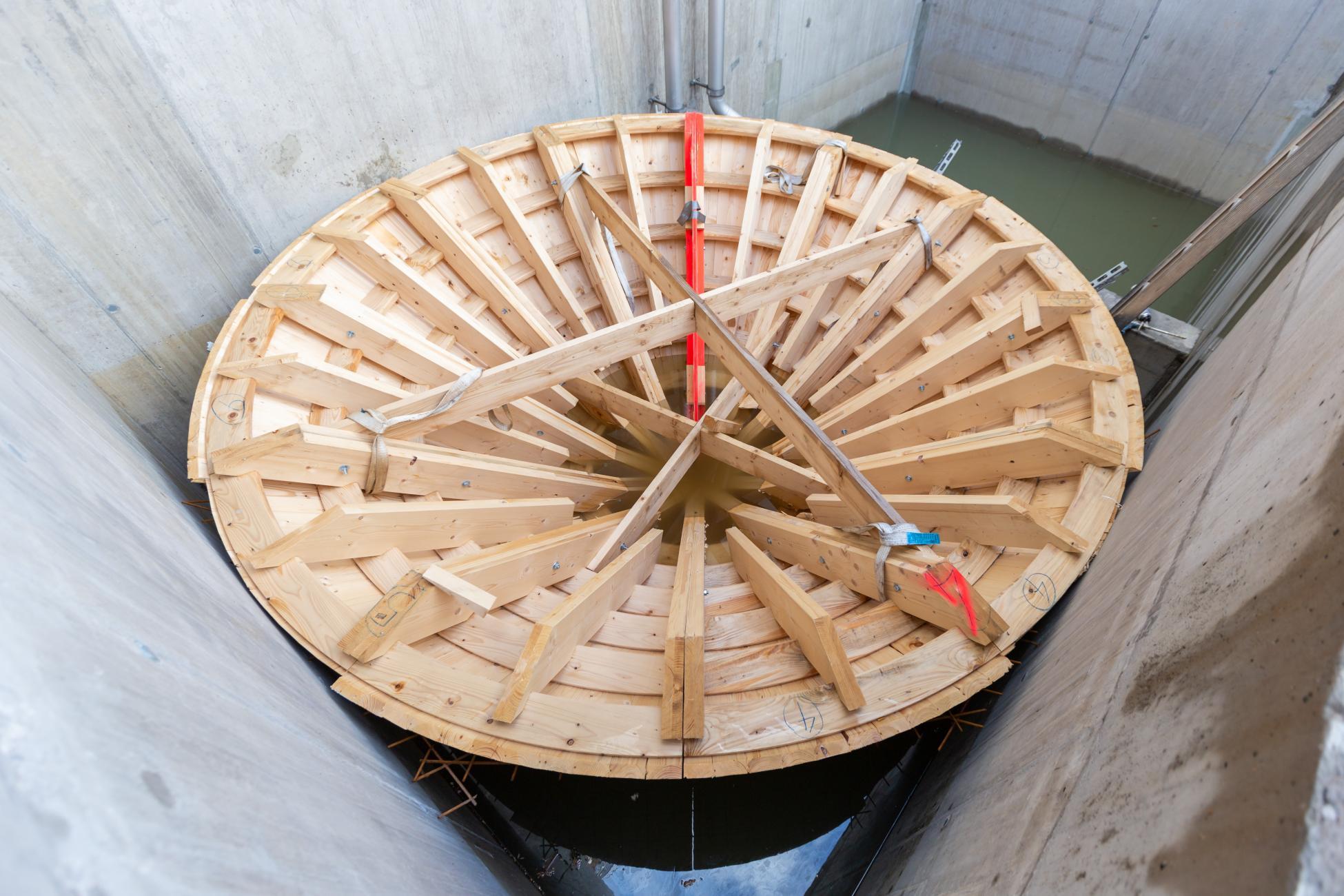 Glattbrugg Abwasserreinigungsanlage Trickterschalung