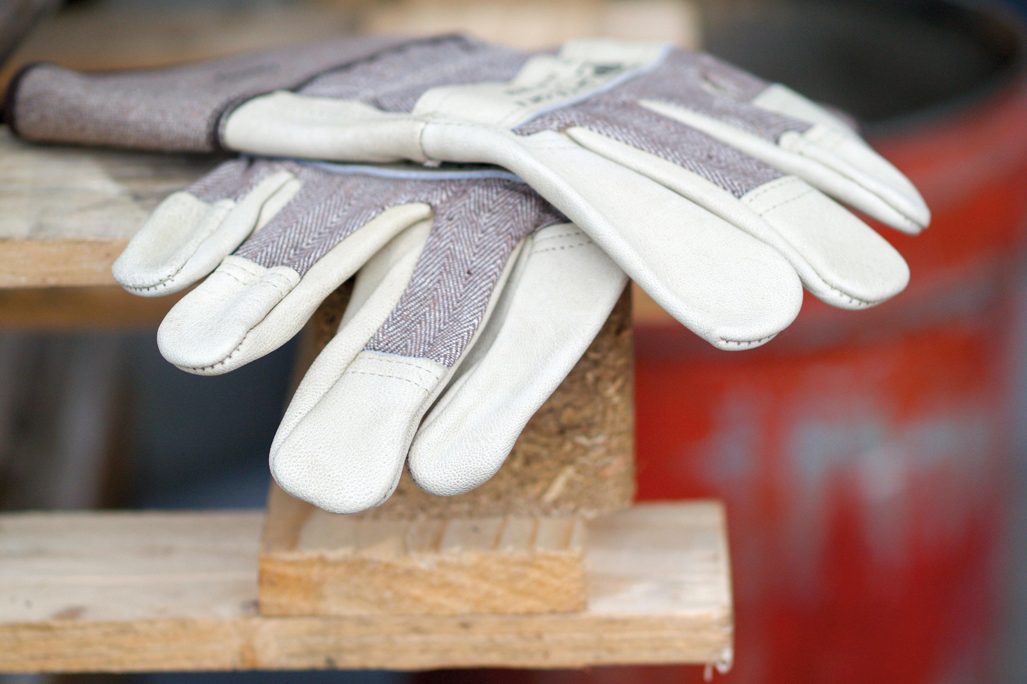 Arbeitssicherheit Schutzausrüstung Handschuhe