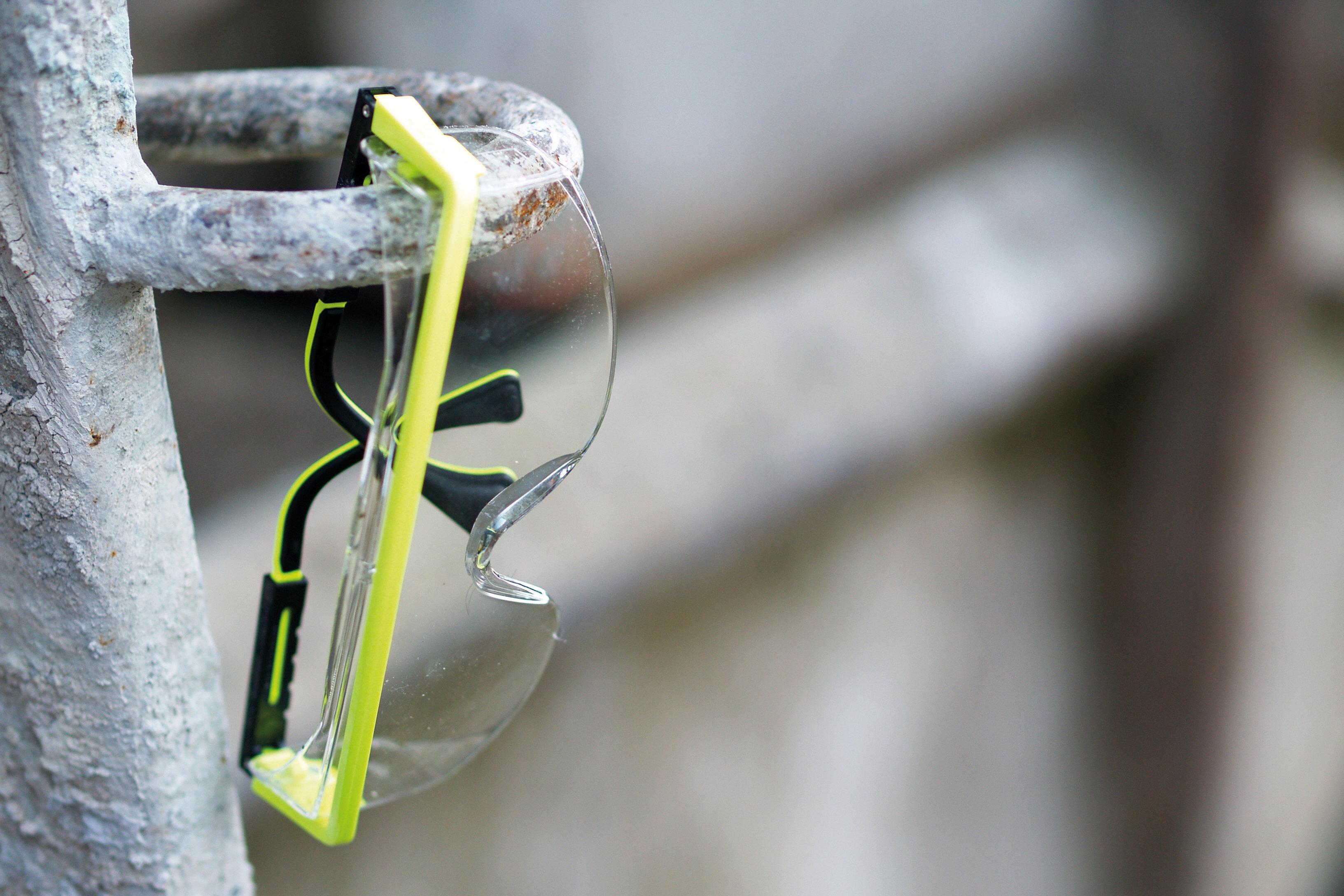 Arbeitssicherheit Schutzausrüstung Schutzbrille