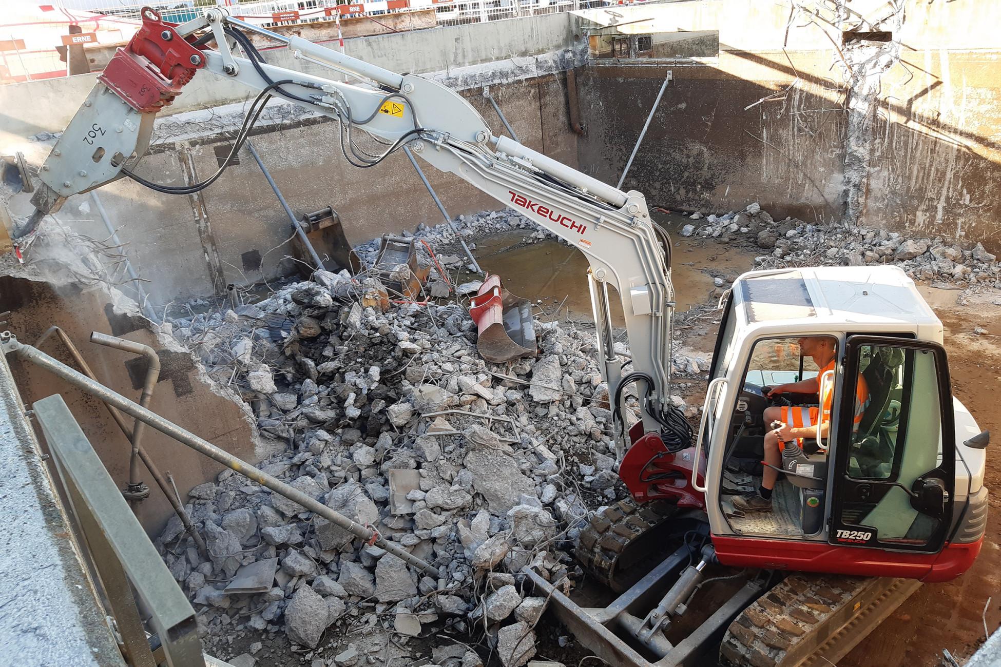 Abbruch ARA Bad Zurzach Neubau und Erweiterung