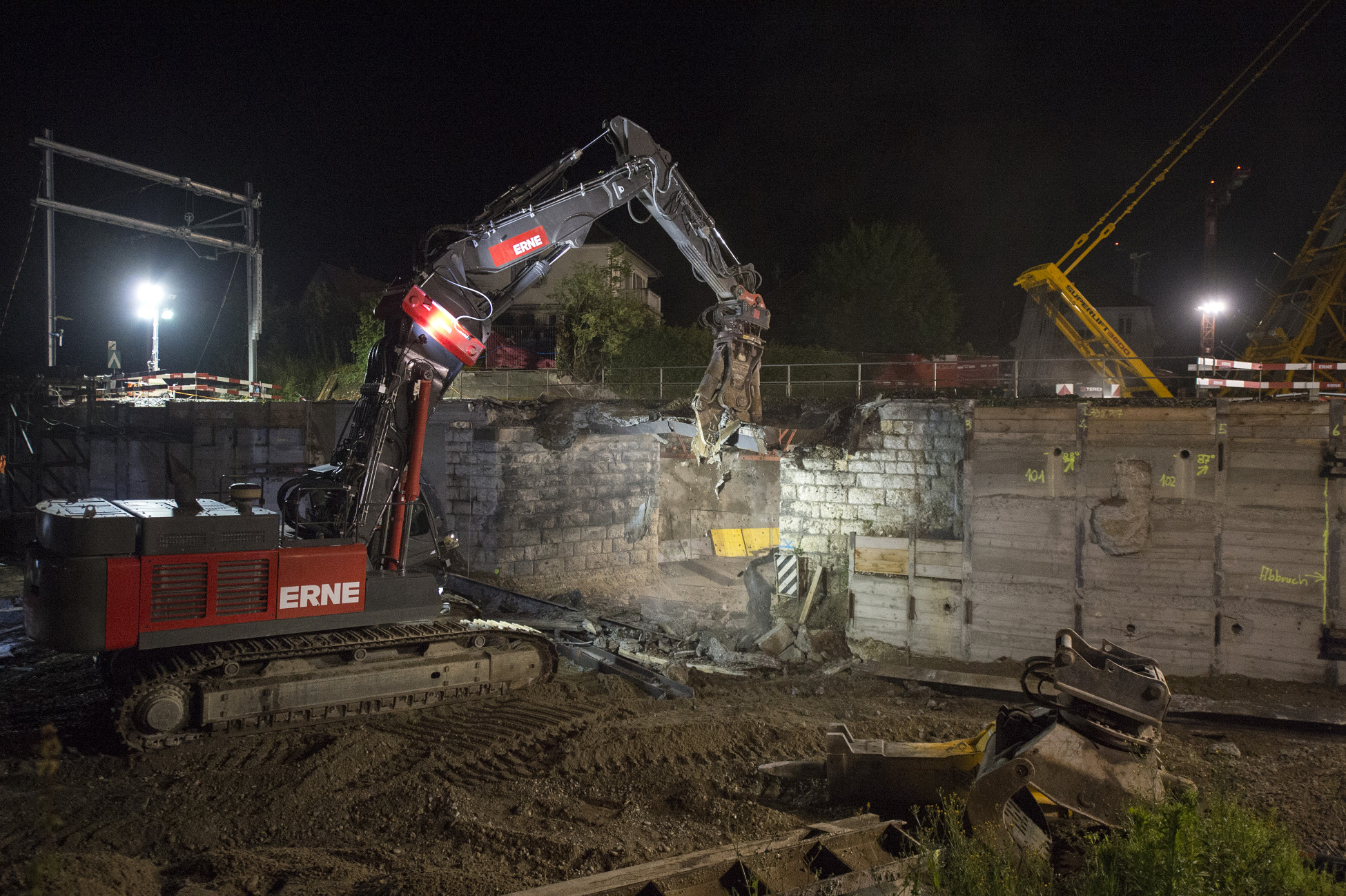 Rückbau SBB-Brücke Ostunfahrung Bad Zurzach