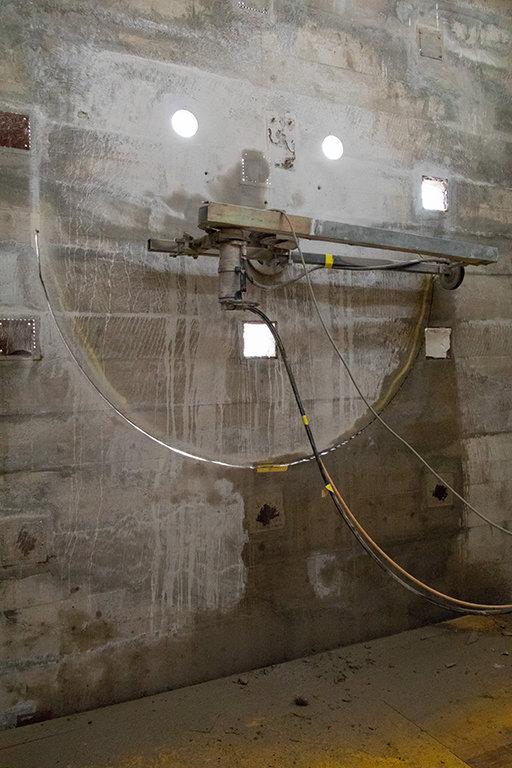 Basel Umbau Silo Erlenmatt Seilsaege