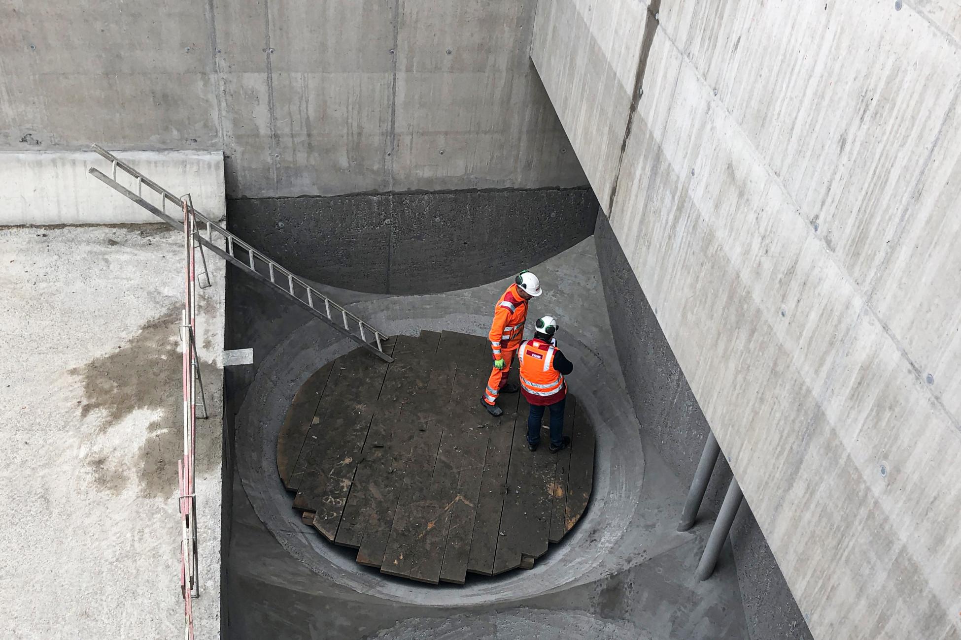 Sanierung der Kläranlage Glattbrugg