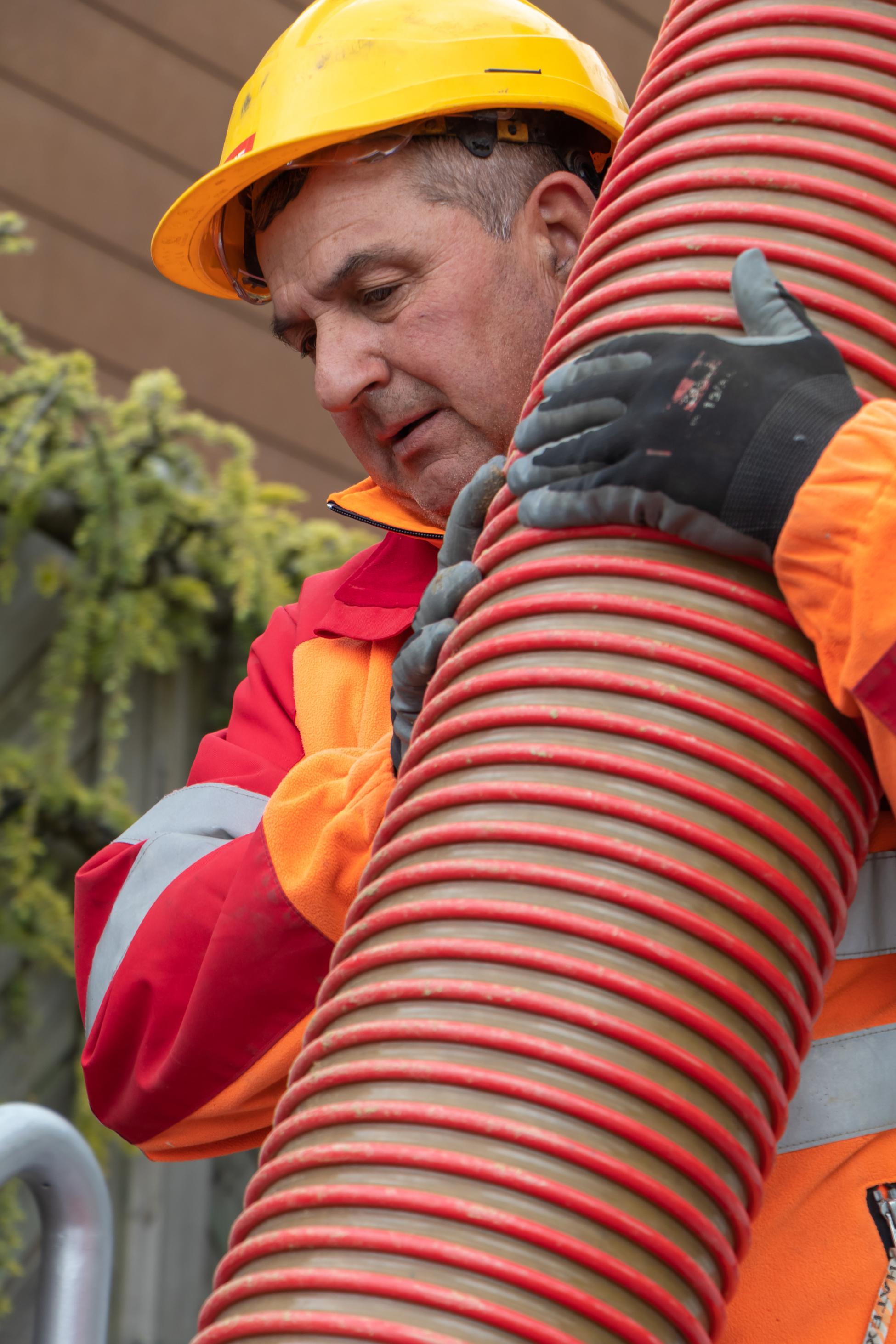 Brugg Wasserleitungsbruch grosses Rohr
