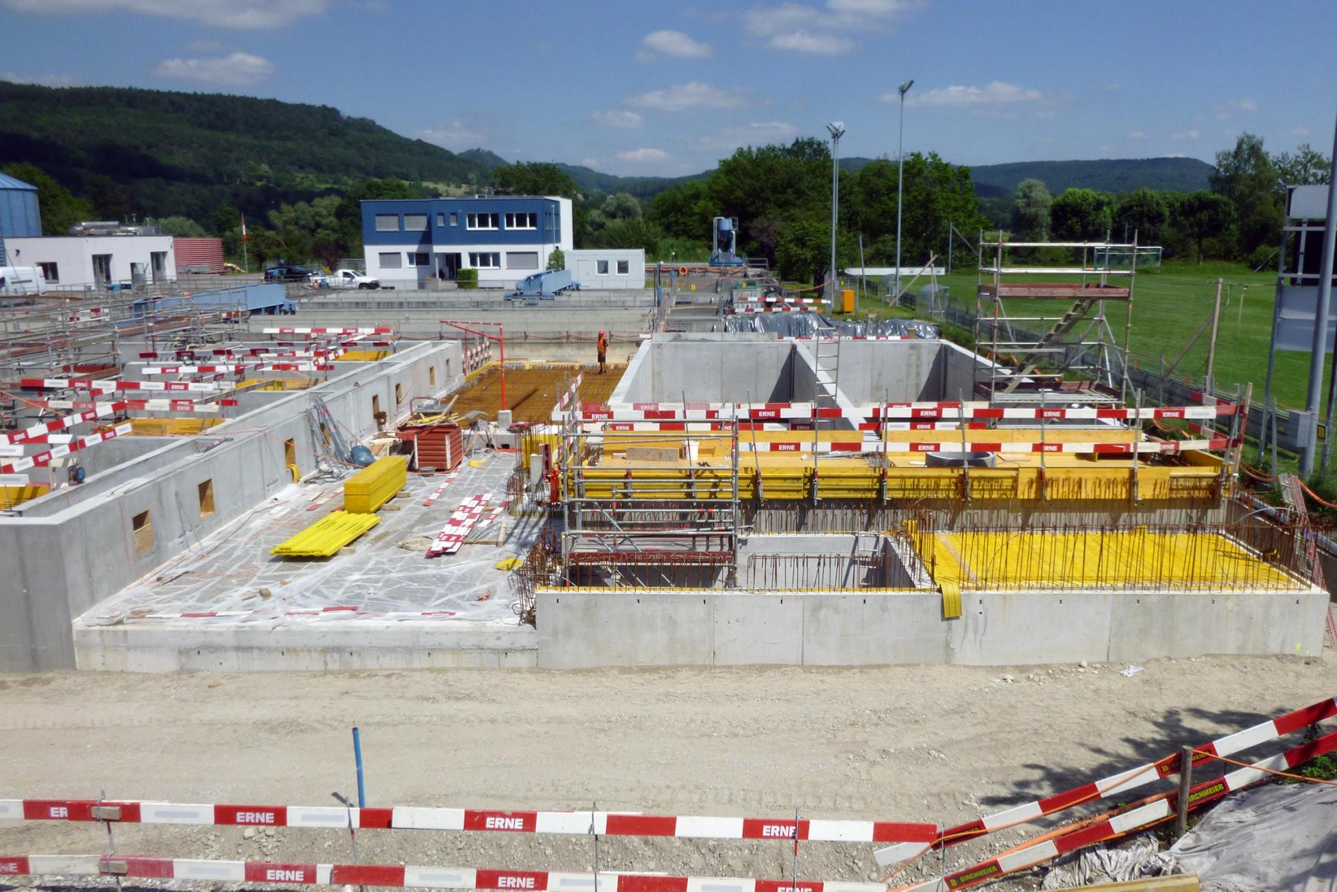Hochbau ARA Bad Zurzach Neubau und Erweiterung