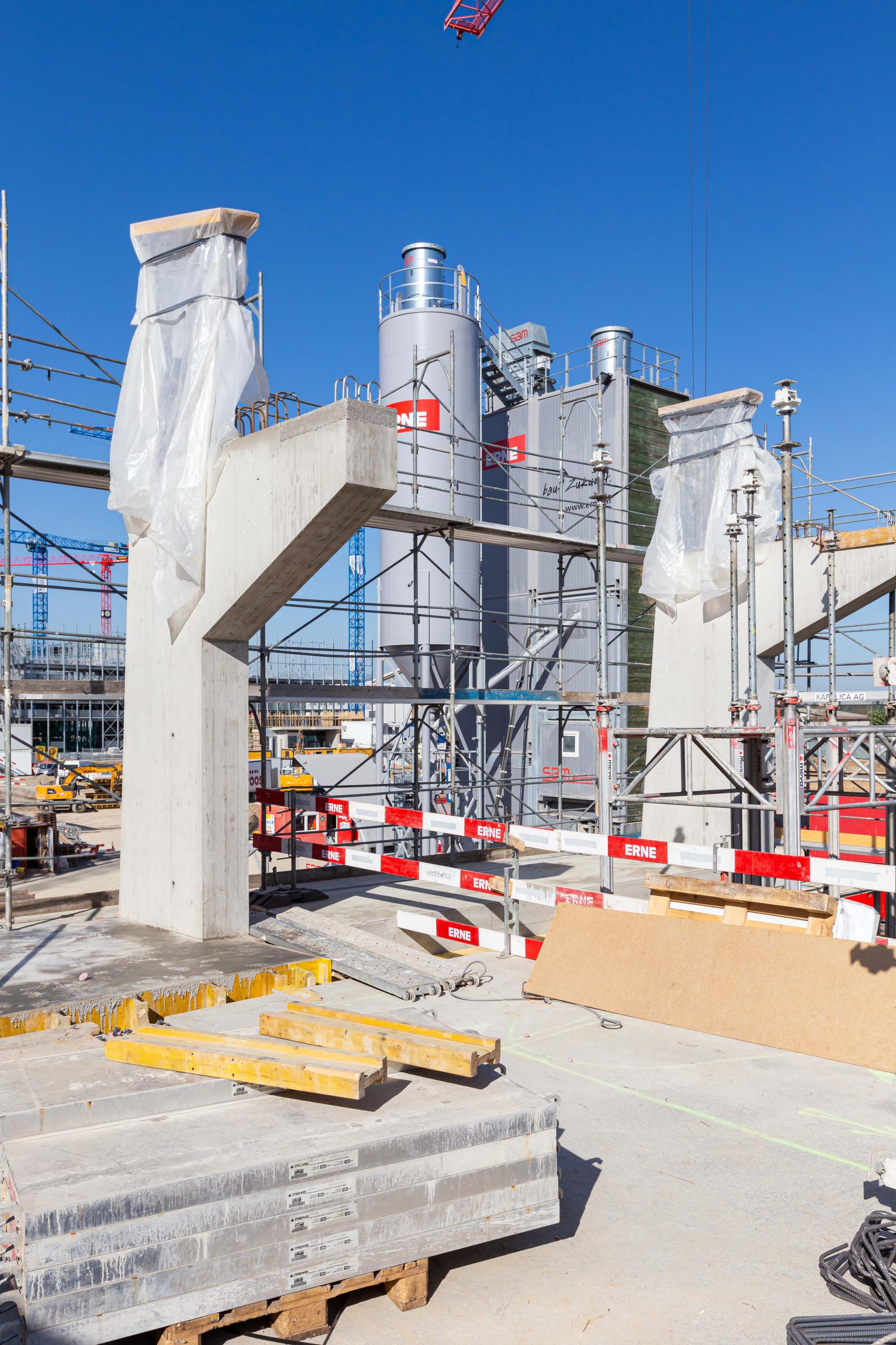 Hochbau Fassadenschotte Neubau GRID BaseLink