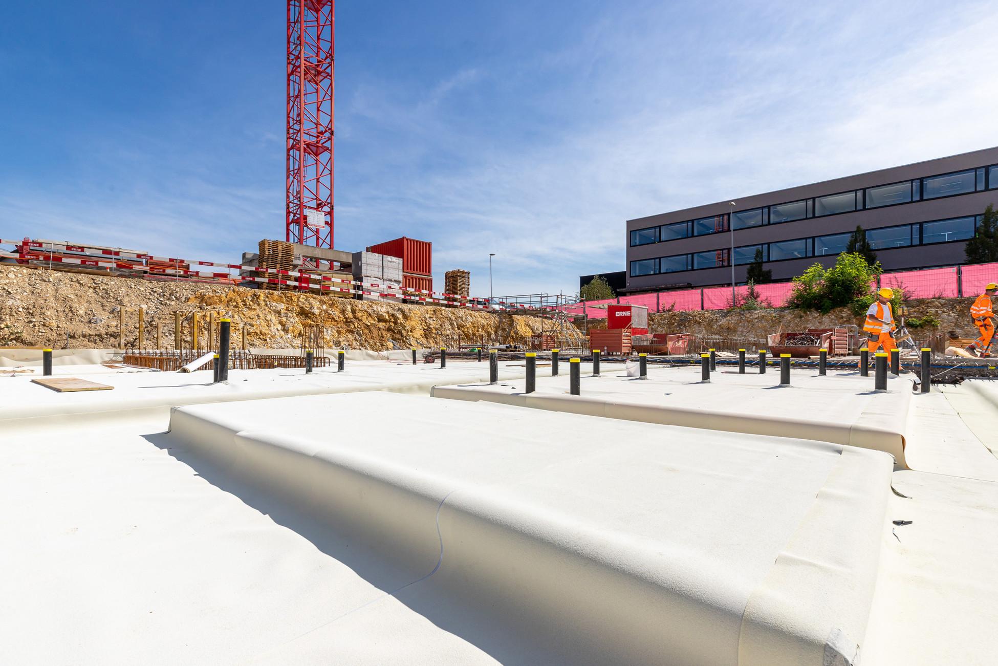 Hochbau Olten Neubau Betriebsgebäude a.en Weisse Wanne