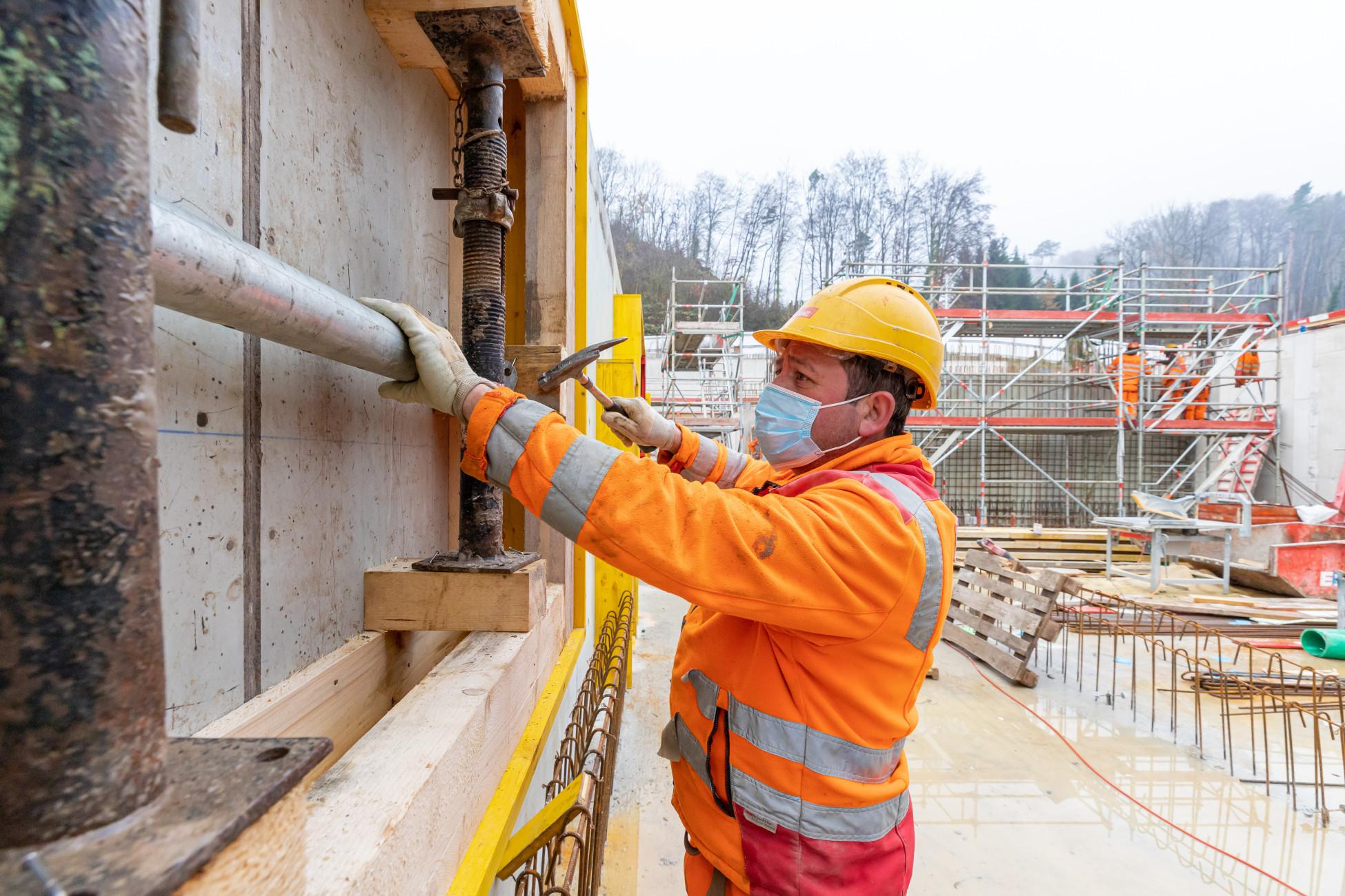 Infrastrukturbau Mitarbeiter Park Innovaare
