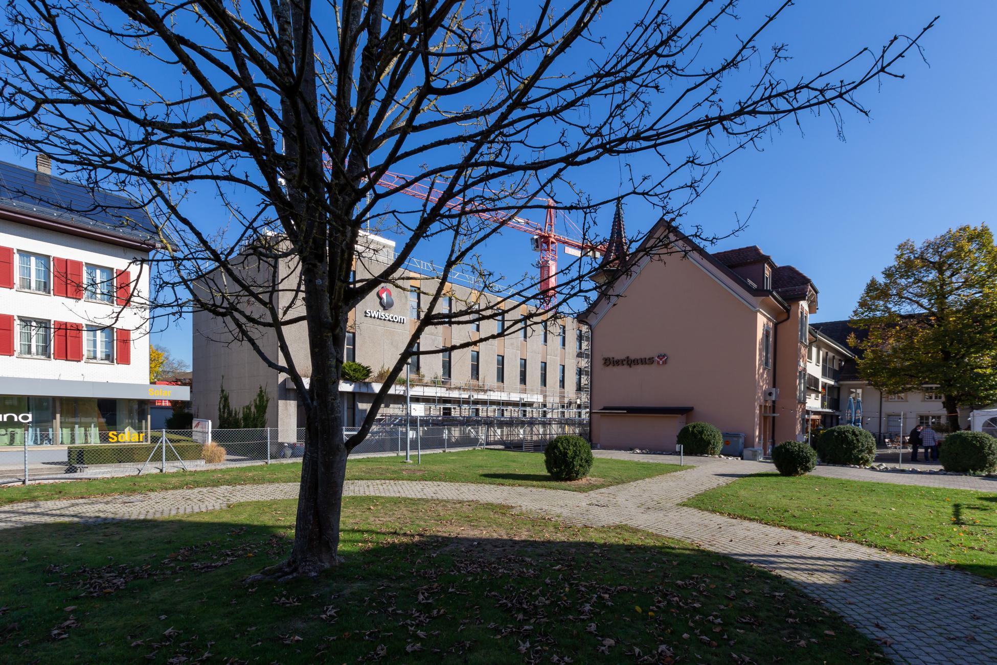 Ueberbauung Bahnhofstrasse in Langenthal