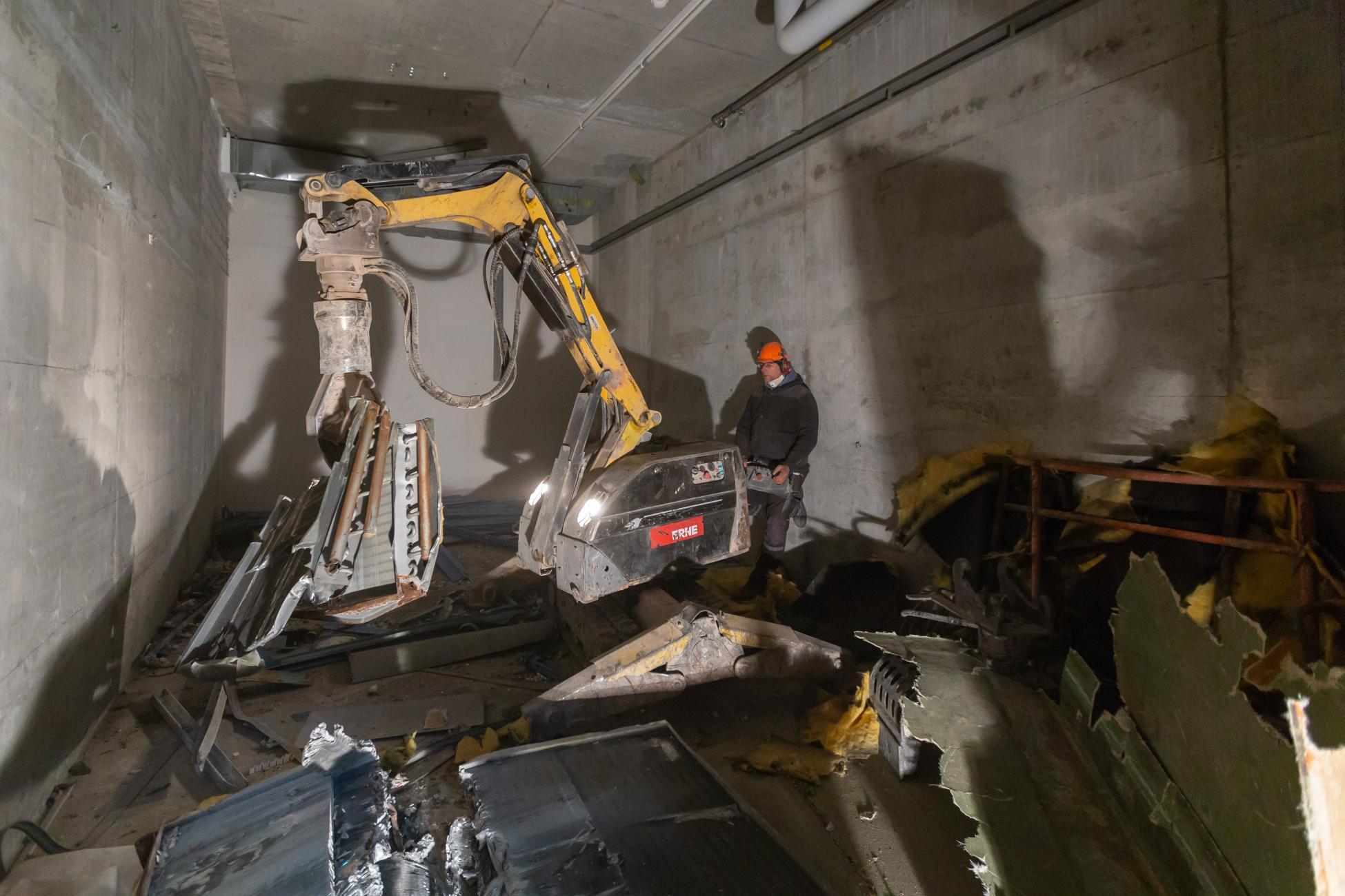 Umbau Ueberbauung Bahnhofstrasse Langenthal