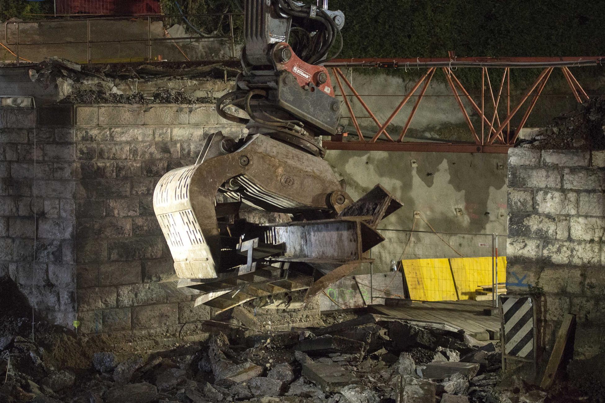 Rückbau SBB-Brücke Ostumfahrung Bad Zurzach
