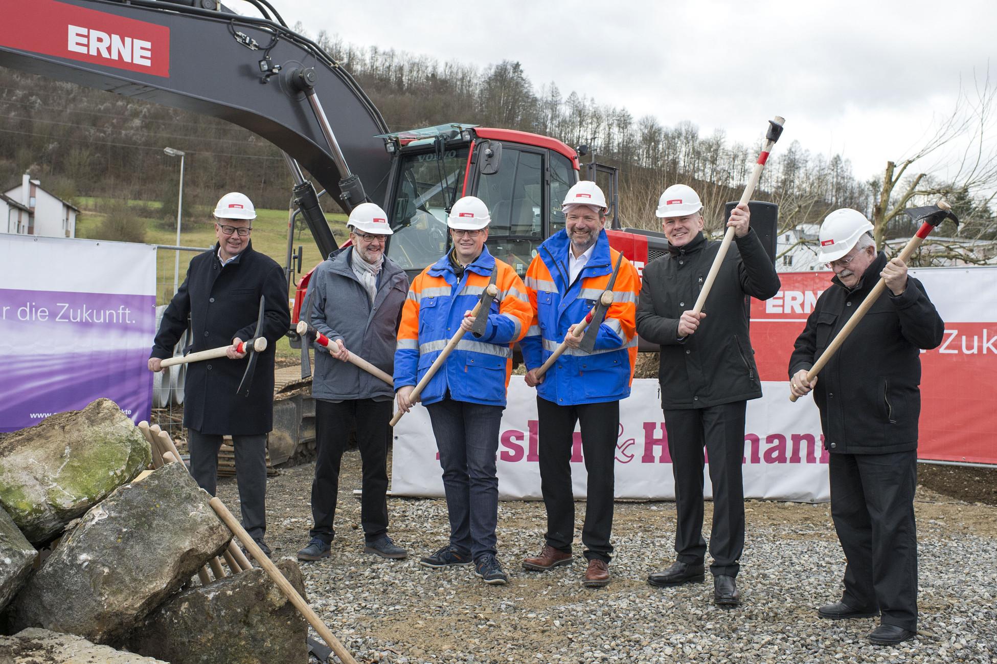 Tiefbau Projekt Spatenstich Ostumfahrung Bad Zurzach