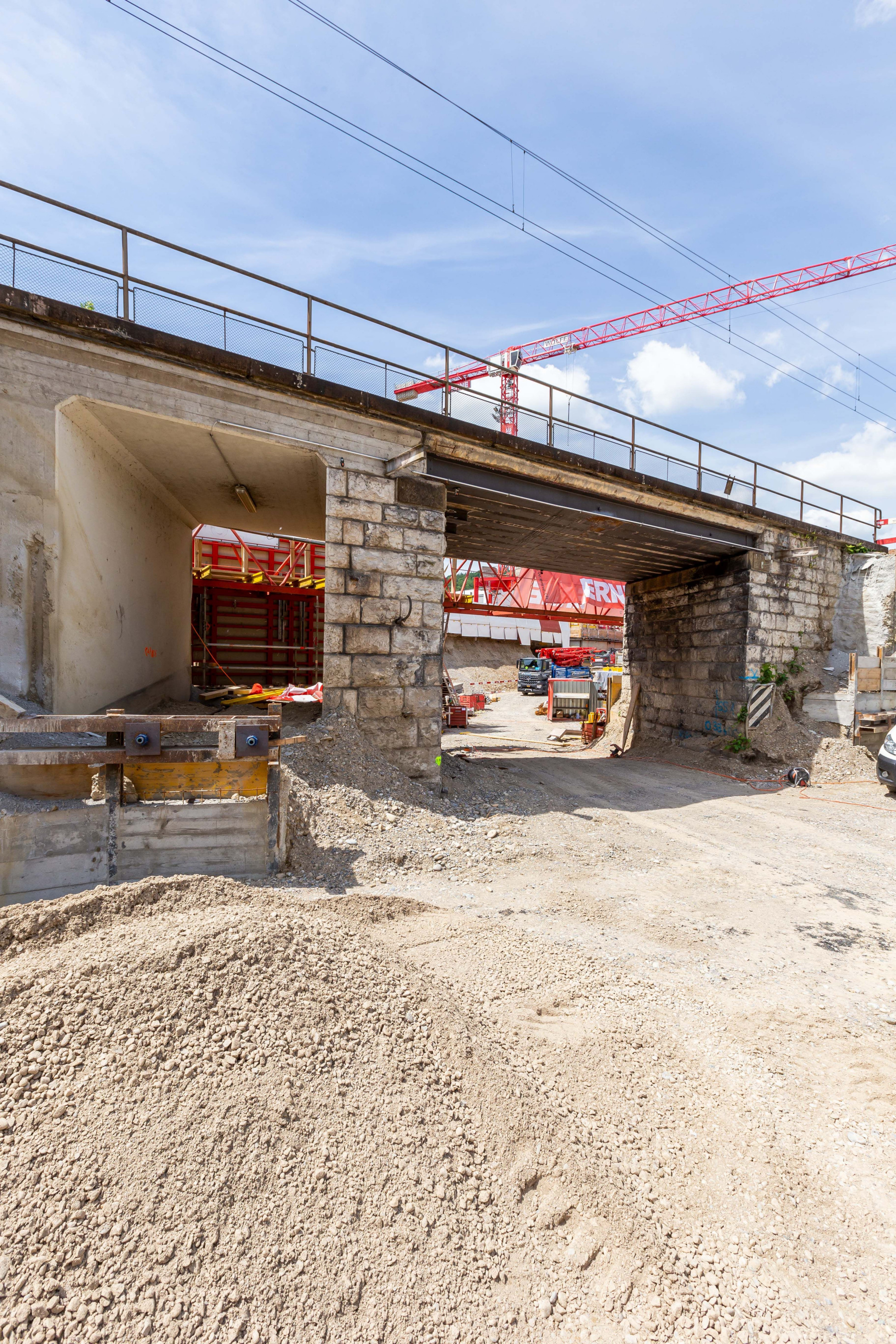 Tiefbau SBB-Brücke Ostumfahrung Bad Zurzach