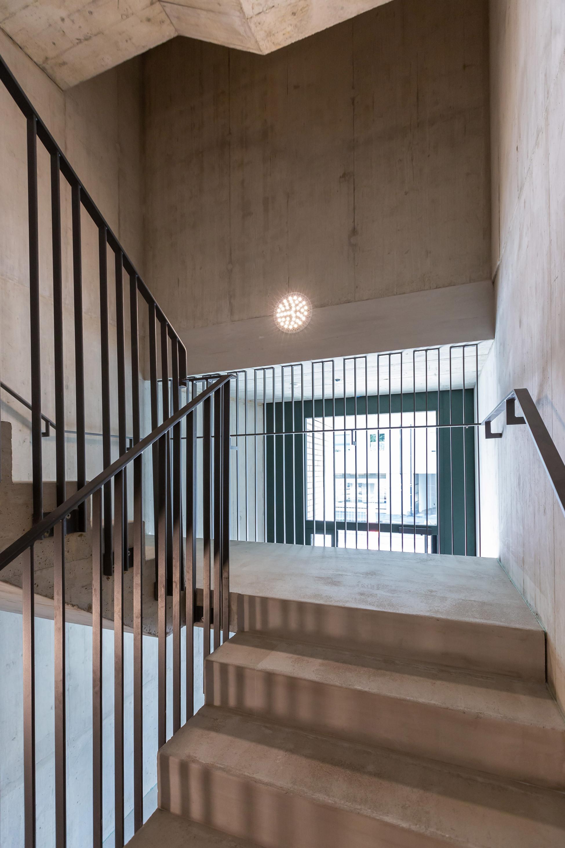 Betonkosmetik Basel Ersatzneubau Mehrfamilienhaus
