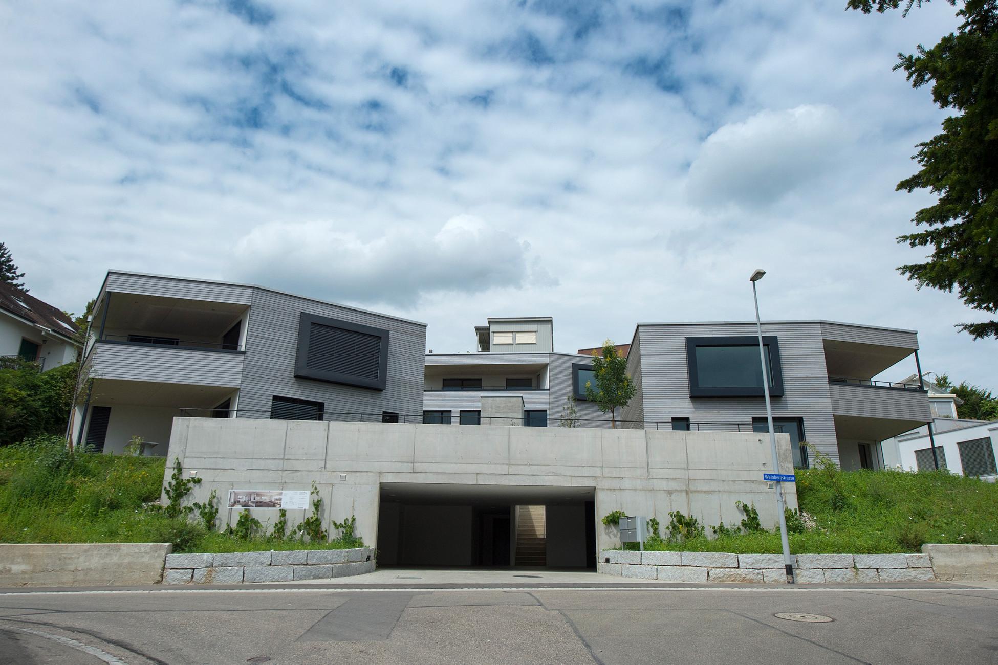 Hochbau Gewerbebauten und MFH Binningen Ueberbauung Moppert