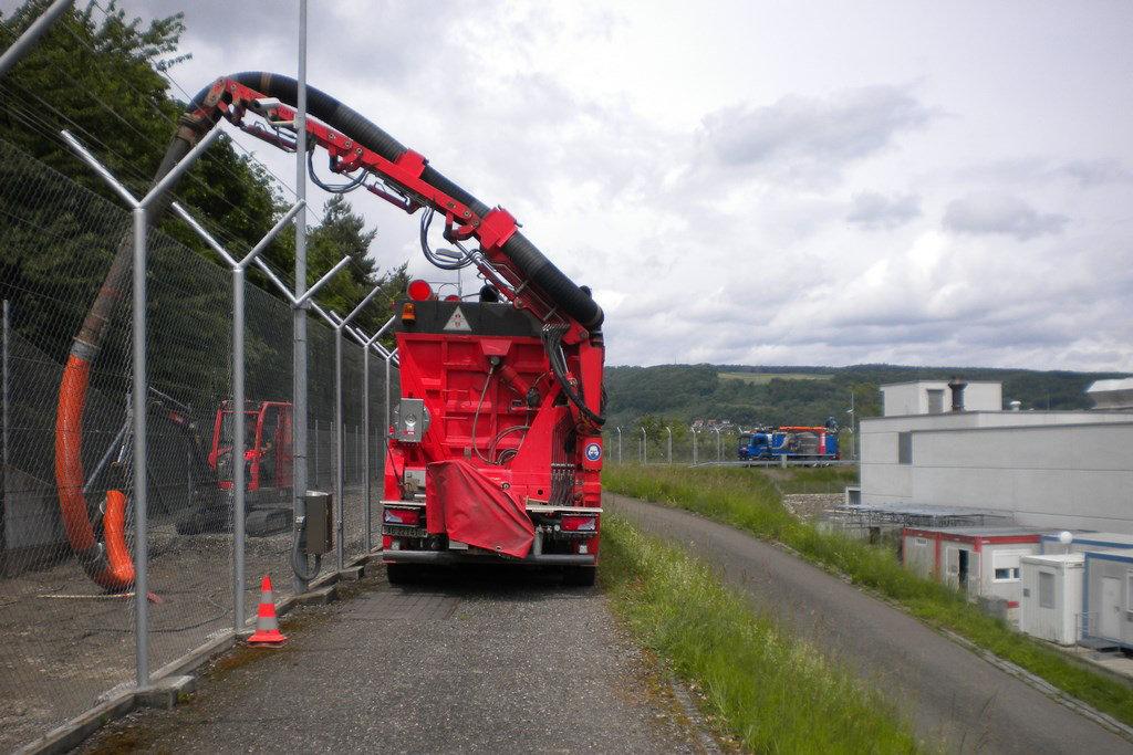 Saugbagger Distanzsaugen ERNE-FANT