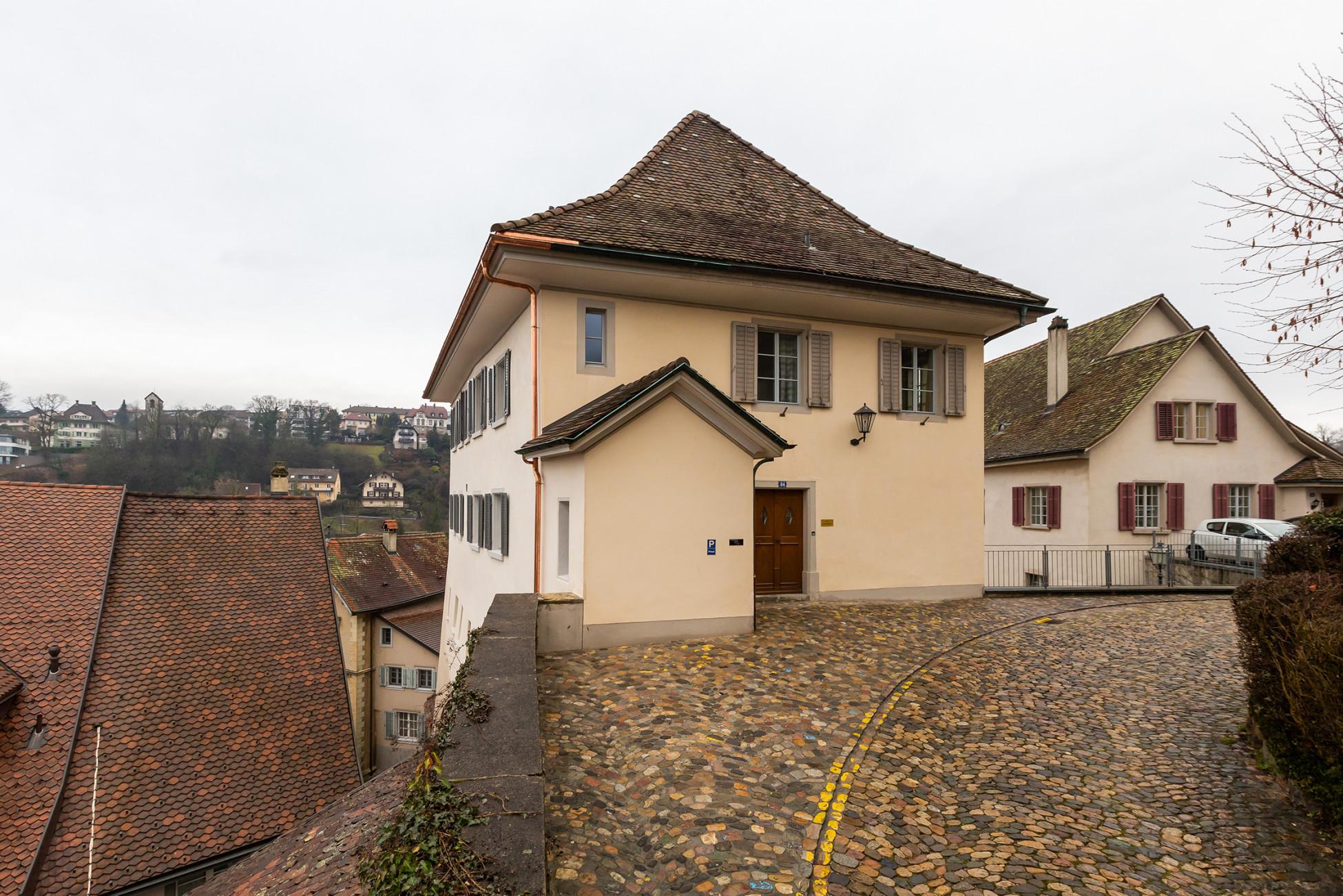 Werterhaltung Anbau Umbau Sanierung Laufenburg Fassade Pfarrhaus