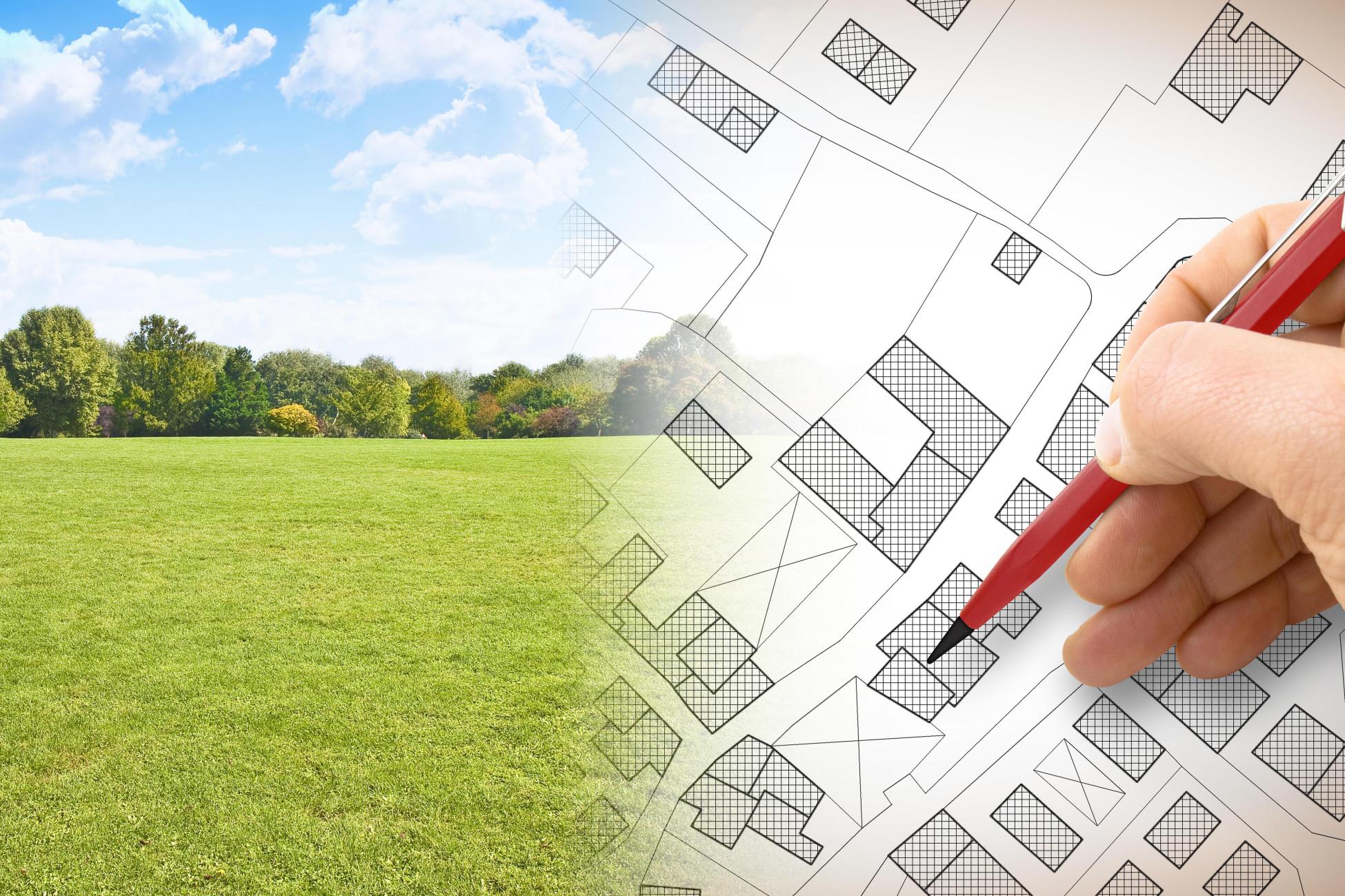 ERNE plus Projektentwicklung auf der grünen Wiese