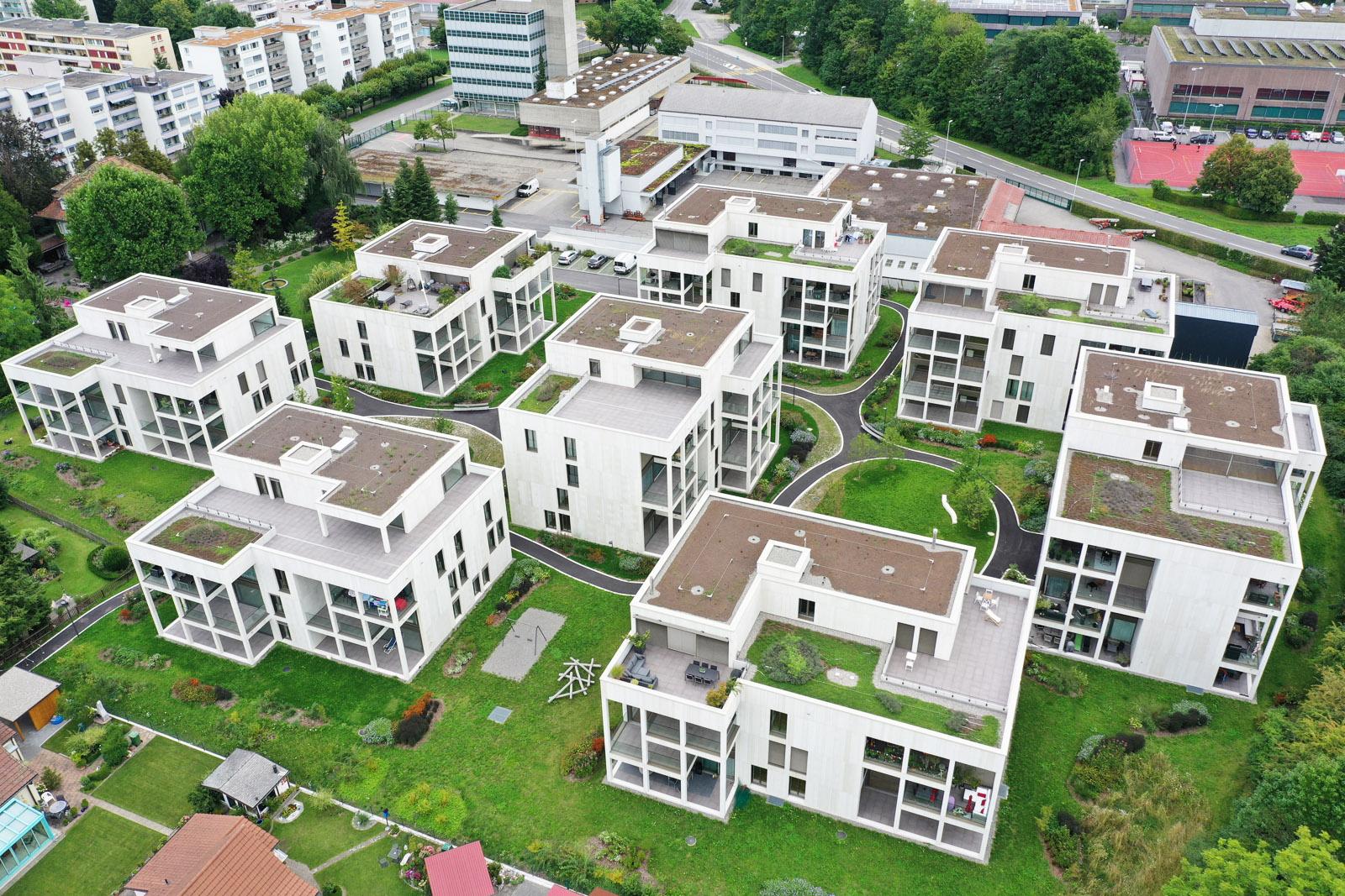 Neubau Generalunternehmer Wohnüberbauung Zofingen