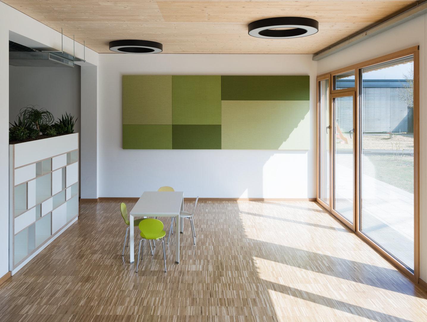 ERNE Holzbau Kindergarten Luxemburg Modulbauweise
